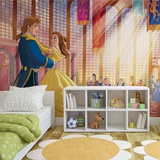 Disney Beauty and the Beast - Royal Dance - Vlies Non-Woven Mural Vlies Wallpaper Mural