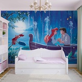 Disney The Little Mermaid - Kiss the Girl - Vlies Non-Woven Mural Vlies Wallpaper Mural