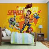 Disney Toy Story - Woody and Buzz Basketball - Vlies Non-Woven Mural Vlies Wallpaper Mural