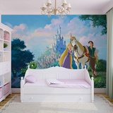 Disney Tangled - Rapunzel and Flynn - Vlies Non-Woven Mural Vlies-tapettijuliste