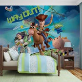 Disney Toy Story - Way Out - Vlies Non-Woven Mural Vlies Wallpaper Mural