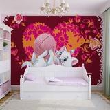 Disney Aristocats - Marie with Yarn - Vlies Non-Woven Mural Vlies Wallpaper Mural