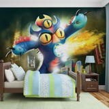 Disney Big Hero 6 - Fredzilla - Vlies Non-Woven Mural Vlies Wallpaper Mural