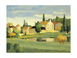 Town and Country VI Premium Giclee Print by Max Hayslette