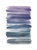Watercolor Stripes B Premium Giclee Print by  THE Studio
