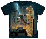 Vincent Hie- Catzilla Vs. Robot T-skjorte