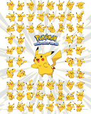 Pokemon- Whole Lot Of Pikachu Stampe