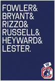 Championship Starting Lineup Print