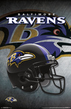 NFL: Baltimore Ravens- Logo Helmet 16 Posters