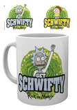 Rick & Morty - Get Schwiffy Mug Taza