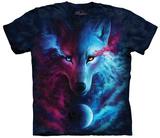 Astral Dreamtime Wolf T-skjorter