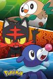 Pokemon- Alola Partners Plakater