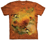 Carol Cavalaris- Sunflower & Butterfly Camisetas