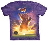 Vincent Hie- Kitten Cloud T-skjorte