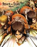 Attack On Titan- Attack Affiche