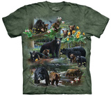 Kevin Daniel- Bear Collage T-shirts