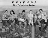 Friends- On Girder Poster