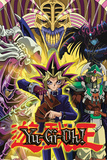 Yu Gi Oh- Yugi And Monsters Kunstdrucke