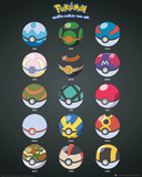 Pokemon- Pokeballs Poster