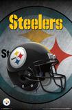 NFL: Pittsburgh Steelers- Logo Helmet 16 Pôsters