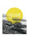 Explore the World Posters por Laura Marshall