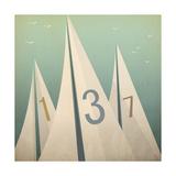 Sails VII Premium Giclee Print by Ryan Fowler