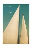Sails I Prints by Ryan Fowler