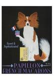 Papillon French Macarons Limitierte Auflage von Ken Bailey