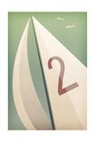 Sails VIII Print by Ryan Fowler