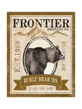 Frontier Brewing IV Pôsters por Laura Marshall
