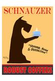 Schnauzer Premium Coffees Limitierte Auflage von Ken Bailey