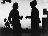 Woody Allen, Diane Keaton, Manhattan, 1979 Fotoprint