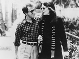Woody Allen, Diane Keaton, Annie Hall, 1977 Fotoprint