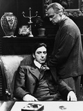 Al Pacino, Marlon Brando, the Godfather, 1972 Fotoprint