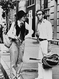 Woody Allen, Diane Keaton, Annie Hall, 1977 Reproduction photographique
