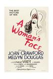 A Womans Face, 1941 Giclée-tryk