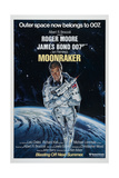 007, James Bond: Moonraker, 1979 (Moonraker) Lámina giclée