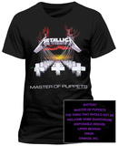 Metallica- Master of Puppets (Front/Back) T-paita