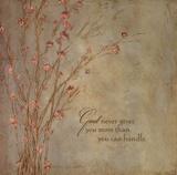 God Never Gives Poster di Stephanie Marrott