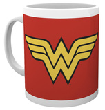 DC Comics Wonder Woman - Logo Mug Taza