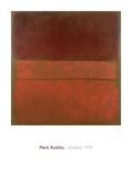 Senza titolo, 1959 Stampa giclée di Mark Rothko
