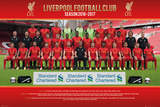 Liverpool- Team 16/17 Prints