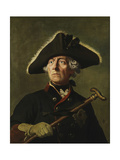 Vintage Painting of Frederick the Great of Prussia Posters av Stocktrek Images,
