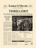 Thriller Giclée-tryk af  The Vintage Collection