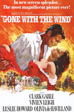 Filmposter Gejaagd door de wind, Gone With The Wind, 1939 Poster