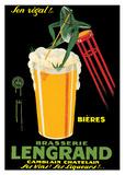 Vintage Brasserie Lengrand Poster