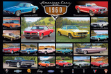 American Classic Cars Of The 60s Posters