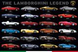 The Lamborghini Legend Poster