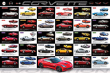 Chevrolet: Corvette- Evolution Specs Pôsteres