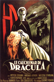 Dracula- Horror Of Dracula(French) Pôsters